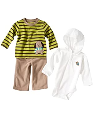 Just One You Made By Carter's Baby-Boys Infant Doggie 3pc Set