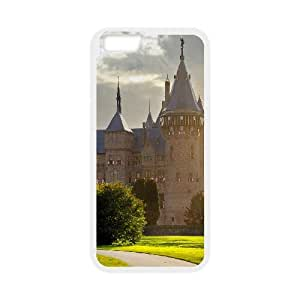 Iphone 6 Case Hogwarts Castle by Leemarson for White Iphone 6 (4.7)inch Screen lmar608671
