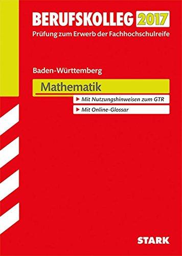 Berufskolleg Baden-Württemberg Mathematik