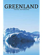 Greenland: Travel Notebook, Journal, Diary (110 Pages, Blank, 6 x 9)