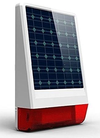 Sirena/alarma antirrobo para, con luz, sin cable, potencia ...
