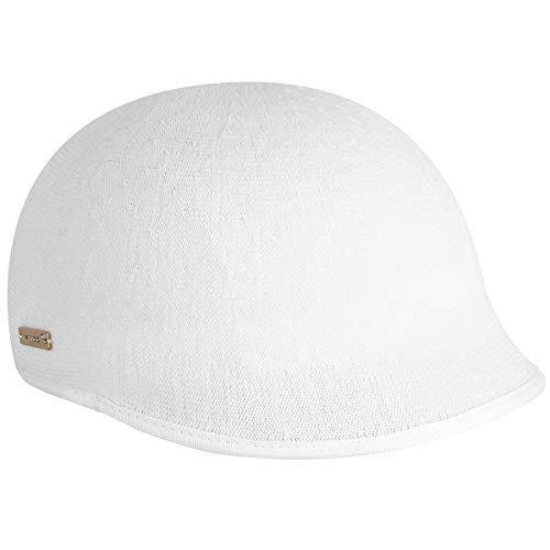Kangol Women Sweetcorn Deeto White L (Womens Kangol Cloche Hats)