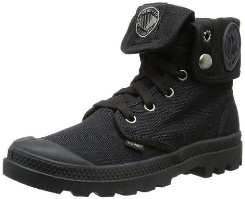 Palladium Women's Baggy Combat Boot, Black, 10 M US - Footwear Combat Boots