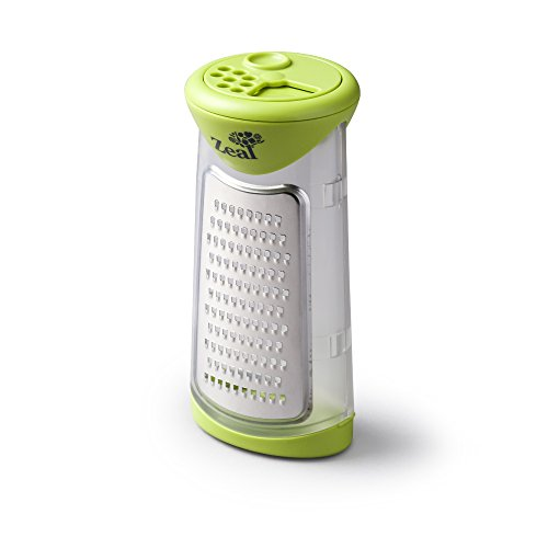 ZEAL Grate and Shake Parmesan Cheese Grater with Storage and Serving Container - Ready to Serve - Green -  Kitchen Innovations, H29GREA