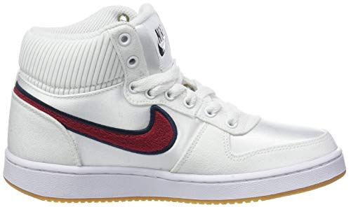 Multicolore Prem De Ebernon white Mid Wmns Chaussures Femme Blue red Crush Nike 100 Basketball blackened 8qwnA