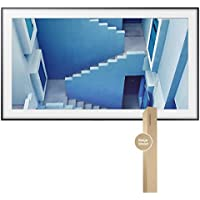 Samsung UN55LS003 55 The Frame 4K UHD Smart TV with 55 The Frame Customizable Bezel (Light Wood)