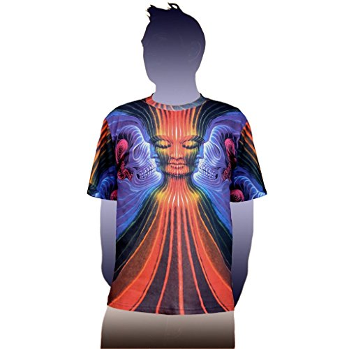 Alex Grey T-shirts (Interbeing Visionary Art Alex Grey T-Shirt | Crystal Tara - CT71-41 (Large))