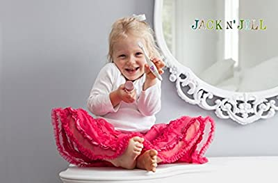 Maven Gifts: Jack N' Jill Bio Toothbrush - Dino with Jack N' Jill Natural Toothpaste, Banana, 1.76oz (Pack of 2) and Rinse Cup - Hippo