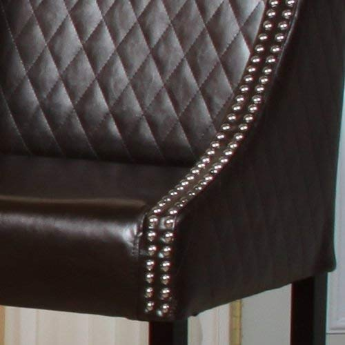 Best Selling Rome Quilted Leather Bar Stool