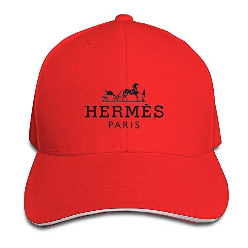 101dog-unisex-hermes-hipster-unisex-adjustable-sandwich-peaked-hat-cap-red