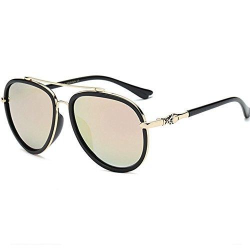 Aoligei Mâle et Polarized lunettes de soleil couleur lumineuse grandes stars lunettes de soleil lunettes noires tendance 8e9KKq