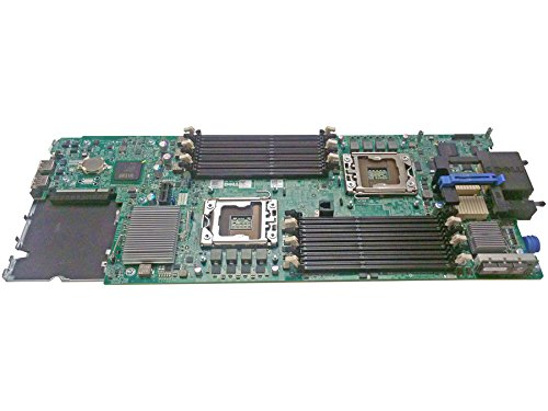582M PowerEdge M610 Series Server Intel 5520 DDR3 DIMM Quad Core Six Core System Main Logic Board Motherboard Compatible Part Numbers: 2Y41P, N582M, CN-02Y41P, CN-0N582M ()