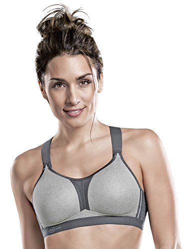 5537 Lot Femme blanc Sans metallo Grey Armature Soutien Heather 2 Star Sport De Dynamix gorge Anita xP8zpqRw