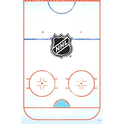 Sports and Tailgating NHL Party NHL Ice Time! Table Cover Tableware, Paper, 54