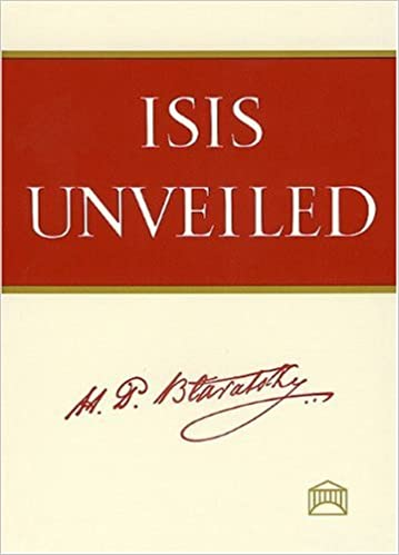 Book — ISIS UNVEILED (TWO VOLUME SET)