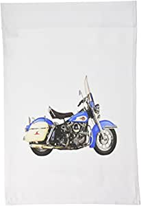 3dRose fl_62114_1 1959 Harley Davidson Motorcycle Garden Flag, 12 by 18-Inch