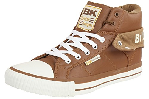 British Knights ROCO BK men trainer Sneaker B34-3736-17 chesnut Chesnut