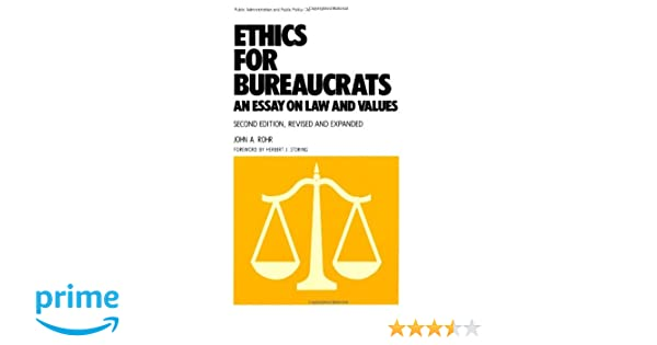 Essay on ethics and values