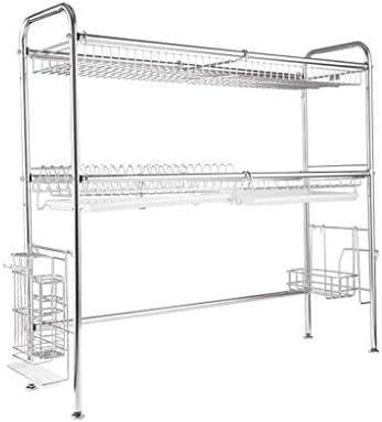家の台所棚付けの貯蔵の皿の水切り器の棚の棚家の棚のステンレス鋼の流しの皿の棚の貯蔵の棚多機能の排水の棚の皿の棚