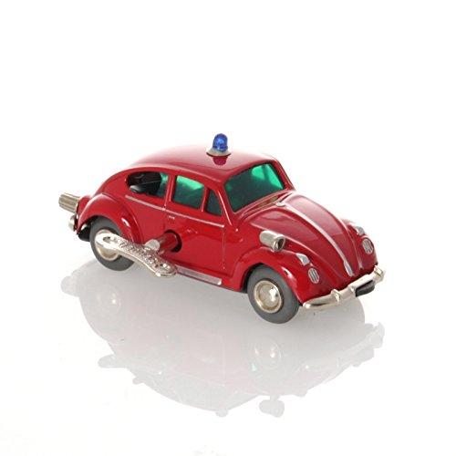 Schuco Tin Toys (Schuco Micro Racer VW 'Käfer' Fire Brigade- Mechanical Tin Toy)