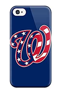 Forever Collectibles Washington Nationals Hard Snap-on Iphone 4/4s Case