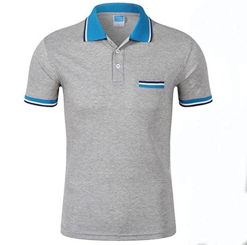 Tzou 10色 ポロシャツ 半袖 Tシャツ ラグラン スポーツ用 お洒落 レディスー メンズ ゴルフシャツ 男女兼用 チェックポロシャツ 無地 カジュアル かっこいい トップス
