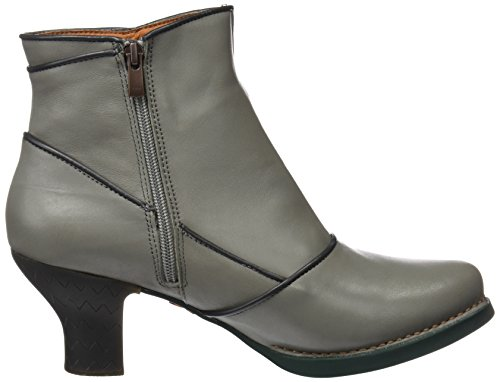 Art Women's Harlem Ankle Boots, Black Grey (Star Humo)