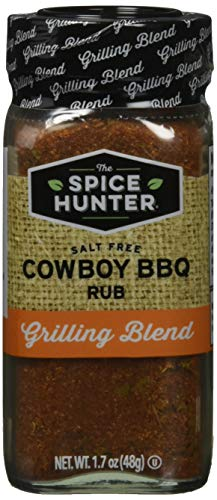 The Spice Hunter Rub, Cowboy Rub, Blend, 1.7-Ounce Jar ()