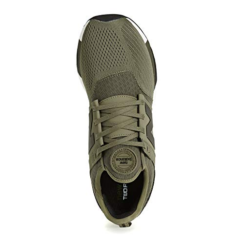 Olive uomo MR274 militare Scarpe Balance verde colore Black in New mod tomaia mesh wPwdOqI