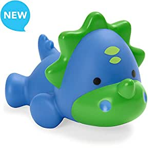 Skip Hop Dino Light Up Baby Bath Toy, Blue, Small,