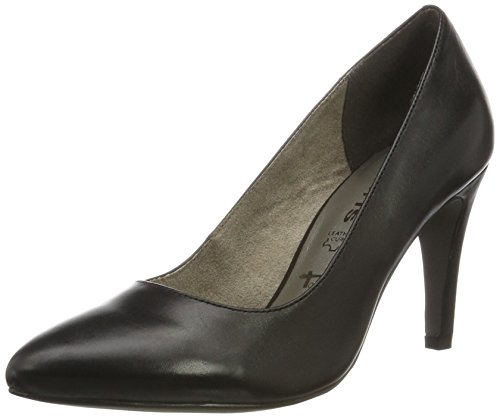 Escarpins Leather Noir 22473 black Femme Tamaris 5PqwgvHc
