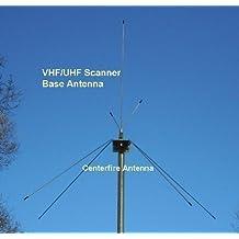 Centerfire VHF-Hi/UHF Multi-Band Base Station Scanner Antenna