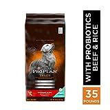 Purina Pro Plan With Probiotics Dry Dog Food, SAVOR Shredded Blend Beef & Rice Formula - 35 lb. Bag