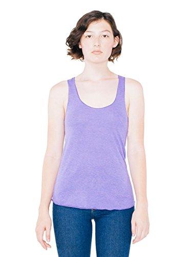 (American Apparel Women's Tri-Blend Racerback Tank Shirt, Orchid, Medium )