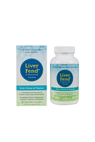 Aerobic Life Liver Fend Liver Detox and Cleanse Supplement, 90 Count