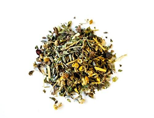 SLEEP TEA by Amoda - SLEEP AID - SLEEP - ORGANIC TEA - A delicious keep calm sleepytime tea - Valerian, Chamomile, Passionflower, Lemon balm, Lavender, Calm, Bedtime tea, Nighttime tea, Calming 2.6oz - incensecentral.us