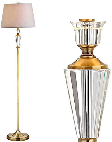 JONATHAN Y JYL2029A Harper 61″ Crystal/Metal LED Floor Lamp Contemporary,Transitional,Traditional