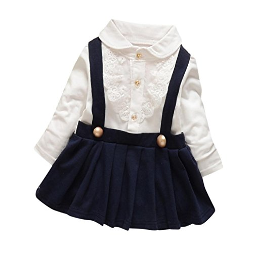 Baby Dress,Laimeng Baby Girl Outfit Fake