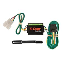 CURT 55106 Vehicle-Side Custom 4-Pin Trailer Wiring Harness for Select Honda CR-V