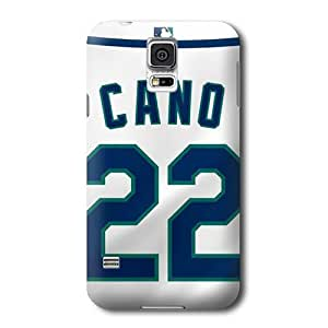S5 Case, MLB - Seattle Mariners Robinson Cano #22 - Samsung Galaxy S5 Case - High Quality PC Case