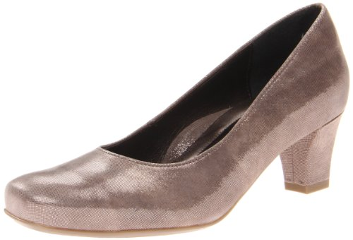 Galaxy Pumps (ara Women's Quinn 1 Pump,Platinum Galaxy,9.5 N US)