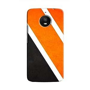 Cover It Up Orange Tile Hard Case For Moto E4 Plus, Multi Color
