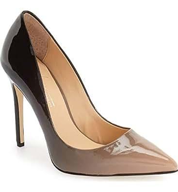 Daya Black & Brown Heel For Women