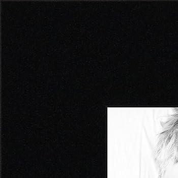 ArtToFrames 22x28 inch Black Satin Picture Frame, WOMCF-105-048C-22x28