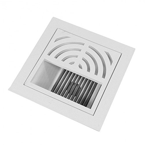 2 Pipe Fit - Complete Floor Sink Kit - 1/2 Top grate - Flat Bottom Grate PVC by Jones Stephens