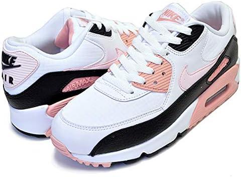 ウィメンズ エアマックス 90 325213-143 WMNS AIR MAX 90 white/light soft pink-black レディース スニーカー AM90 ホワイト ピンク [並行輸入品]