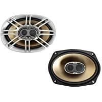 P.A. DB691 - 6x9-inch Coaxial 3-Way Mobile/Marine Loudspeakers, Pair Bare Drive
