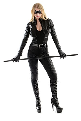 Comic Book Cosplay Costumes (Charades Women's Licensed Black Canary Costume, As As Shown,)