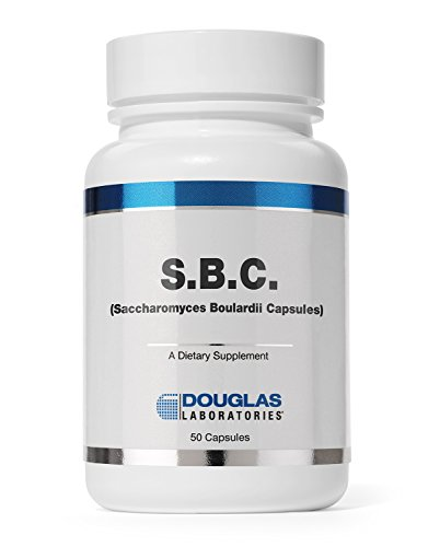 Douglas Laboratories – S.B.C. (Saccharomyces Boulardii Capsules) – Nonpathogenic Yeast Probiotic to Support Healthy Bowel Function* – 50 Capsules