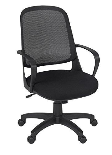 Regency Agent Swivel Chair- Black